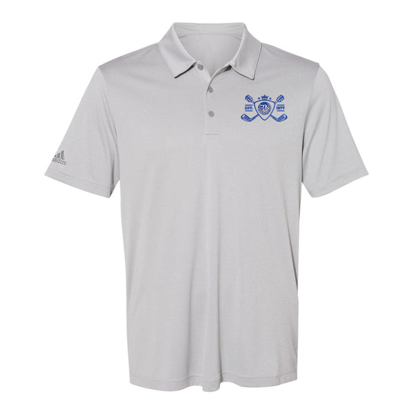Blues Bogey Adidas Sport Polo (Men) - Grey