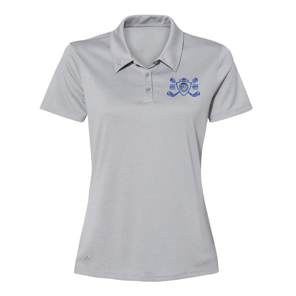 Blues Bogey Adidas Sport Polo (Women) - Grey