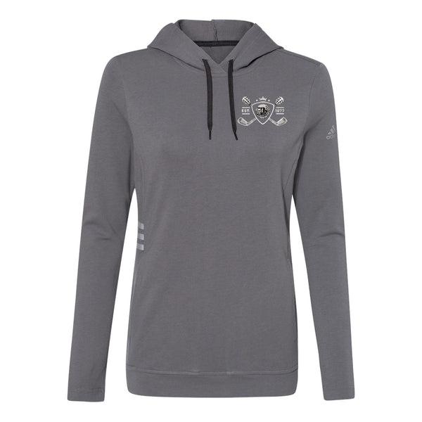 Blues Bogey Adidas Hooded Sweatshirt (Women) - Grey