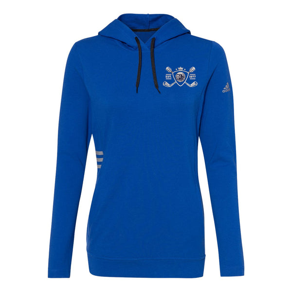 Blues Bogey Adidas Hooded Sweatshirt (Women) - Royal