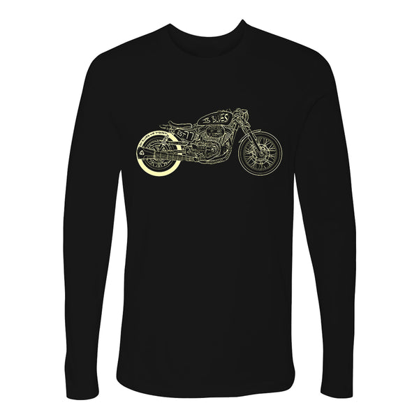 Bona-Bobber Long Sleeve (Men) - Black