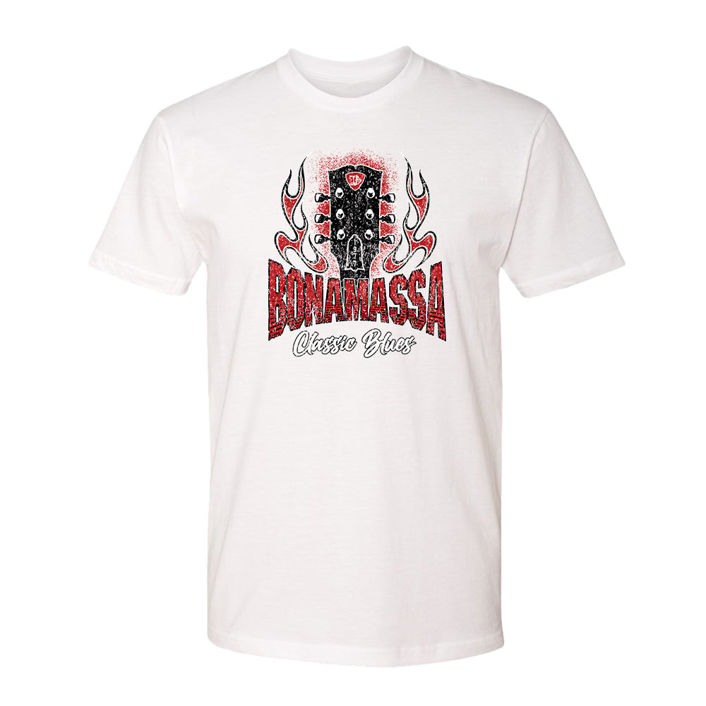 Bonamassa Classic Blues T-Shirt (Unisex) - White