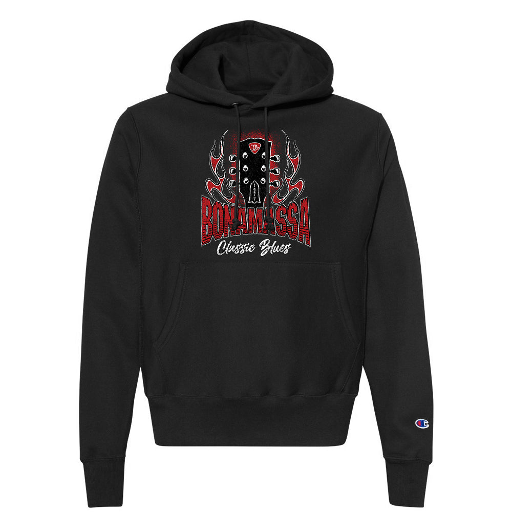Bonamassa Classic Blues Champion Hooded Pullover (Unisex) - Black