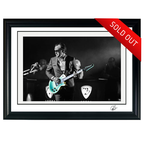 "#21 ""BONABYRD"" JOE BONAMASSA Collectible Litho (FRAMED - USA ONLY)"