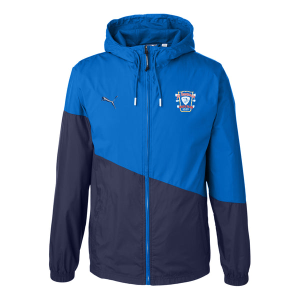 Bona-Fide Headstock Puma Windbreaker (Unisex) - Royal