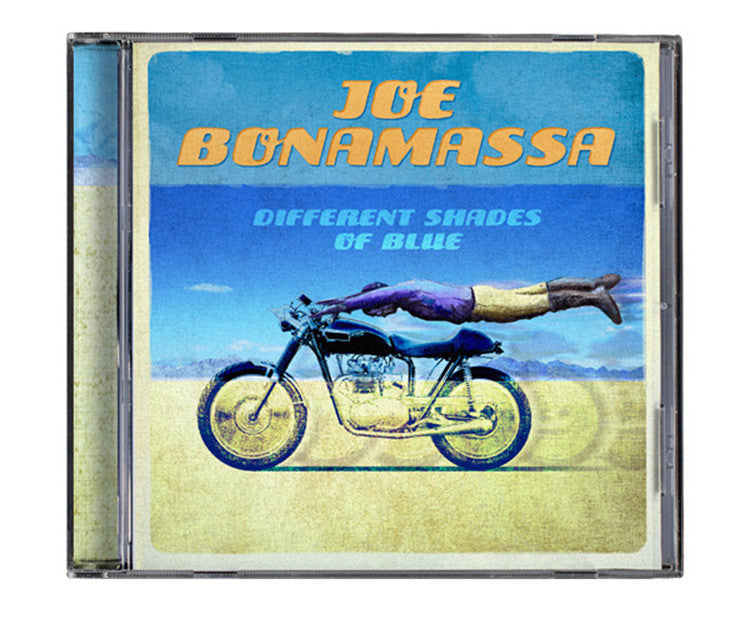 Joe Bonamassa: Different Shades of Blue (CD) (Released: 2014)