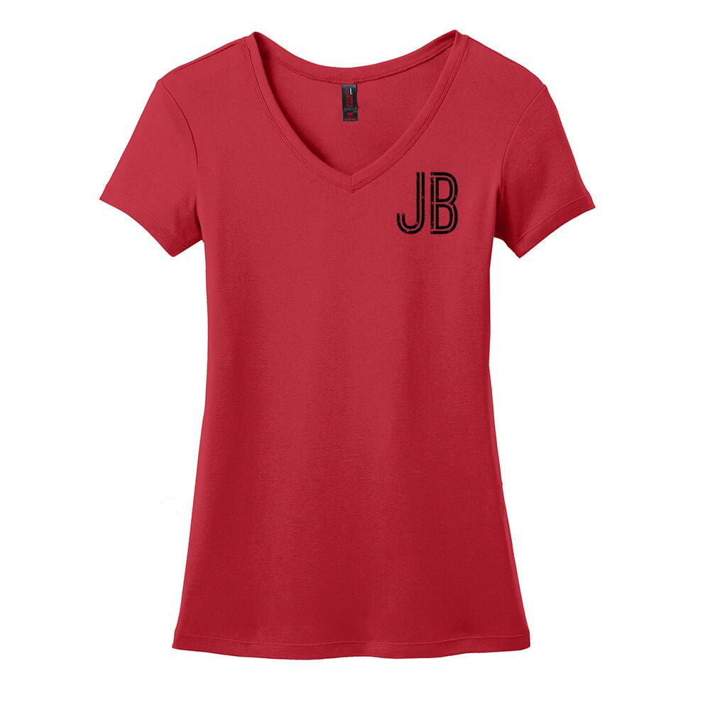 Bonamassa Spotlight V-Neck (Women) - Red