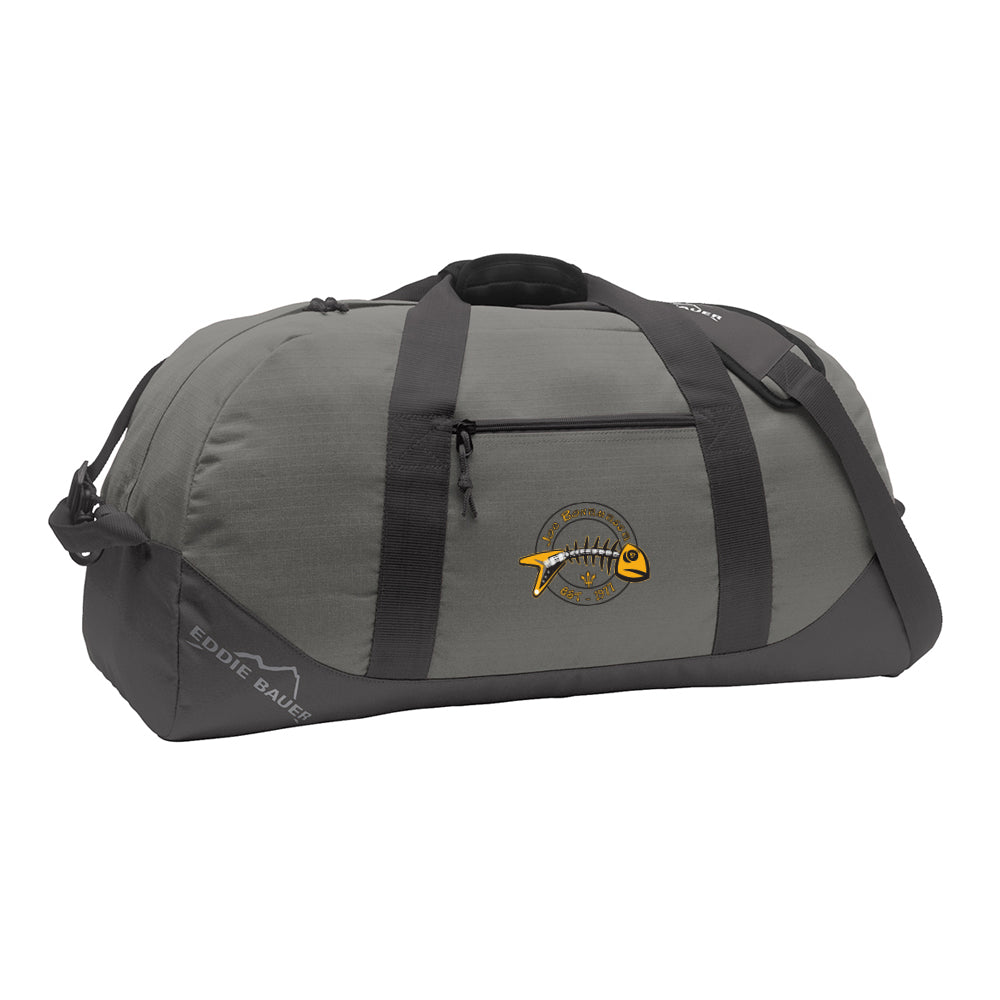 Blues to the Bone Eddie Bauer Duffle Bag - Grey
