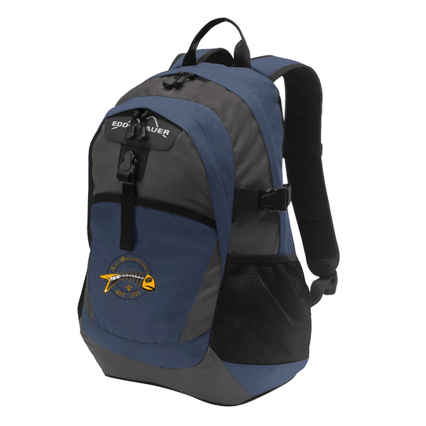 Blues to the Bone Eddie Bauer Backpack - Navy