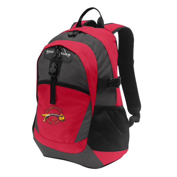 Blues to the Bone Eddie Bauer Backpack - Red