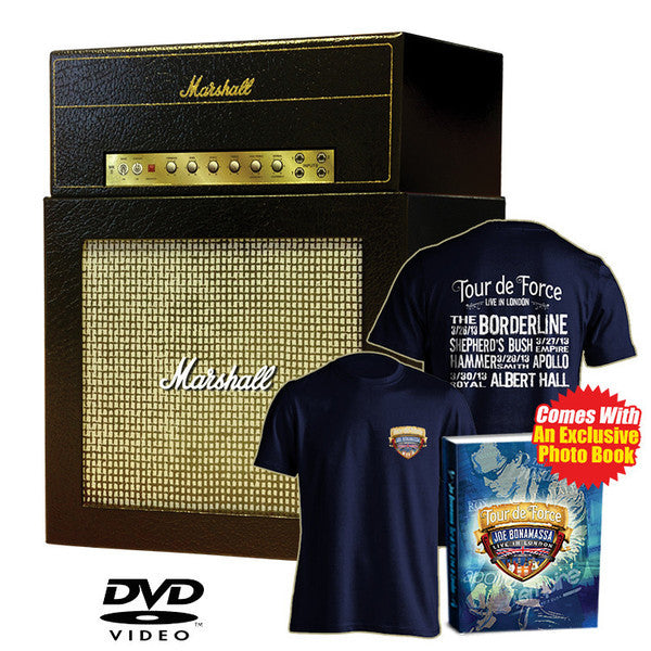 Tour de Force Amp Box Set with all 4 DVDs + FREE T Shirt