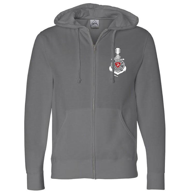 Blues Preserver Zip-Up Hoodie