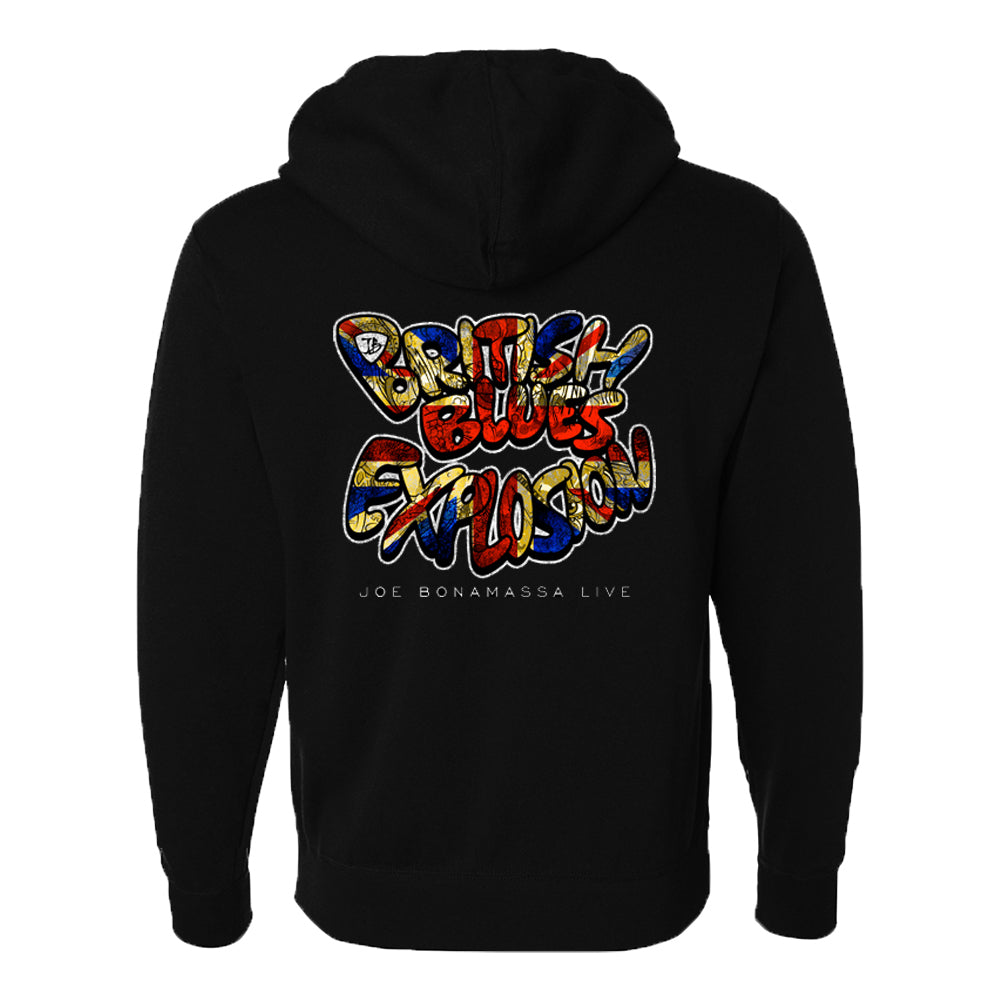 British Blues Explosion Live Zip-Up Hoodie (Unisex)