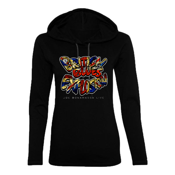 British Blues Explosion Live Hooded Long Sleeve (Women) ***PRE-ORDER***
