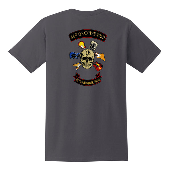 Blues Brotherhood Pocket T-Shirt (Unisex) - Charcoal