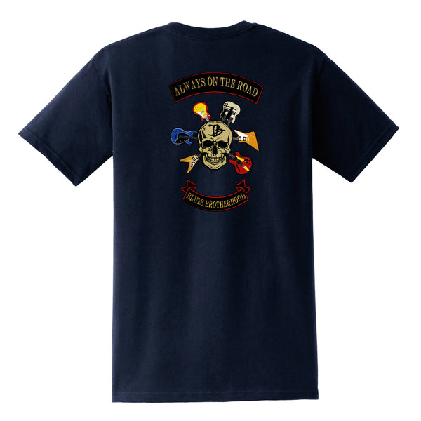 Blues Brotherhood Pocket T-Shirt (Unisex) - Navy