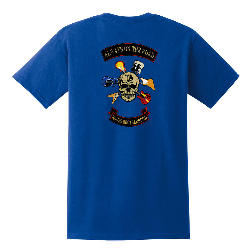 Blues Brotherhood Pocket T-Shirt (Unisex) - Royal
