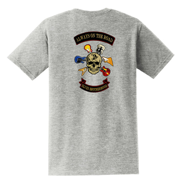 Blues Brotherhood Pocket T-Shirt (Unisex) - Grey
