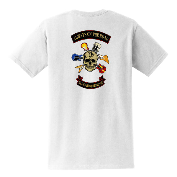 Blues Brotherhood Pocket T-Shirt (Unisex) - White