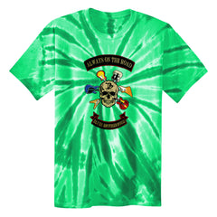 Blues Brotherhood Tie Dye T-Shirt (Unisex) - Green
