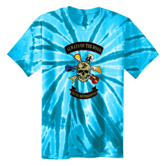 Blues Brotherhood Tie Dye T-Shirt (Unisex) - Turquoise
