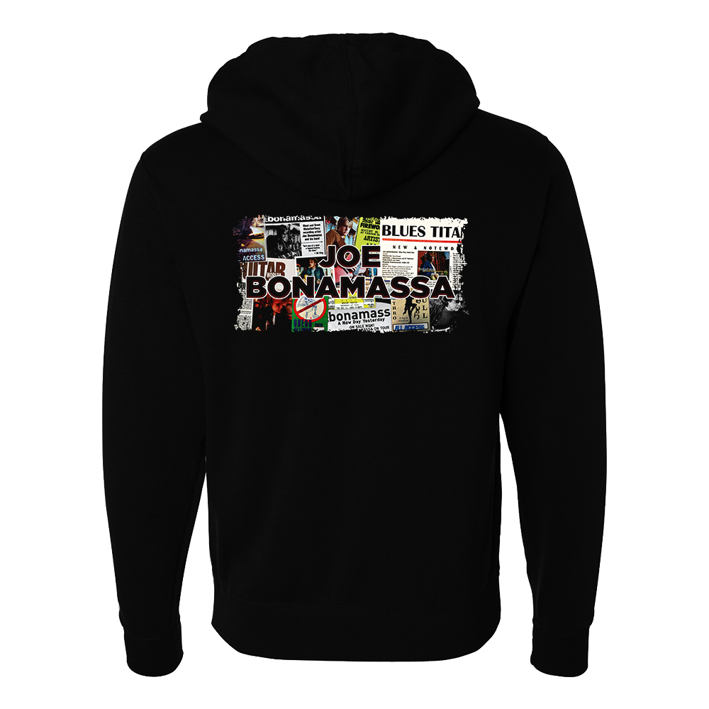 A New Day Now Collage Hoodie Zip-Up Hoodie (Unisex)