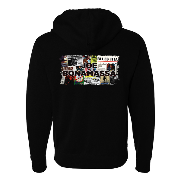 A New Day Now Collage Hoodie Zip-Up Hoodie (Unisex) ***PRE-ORDER***