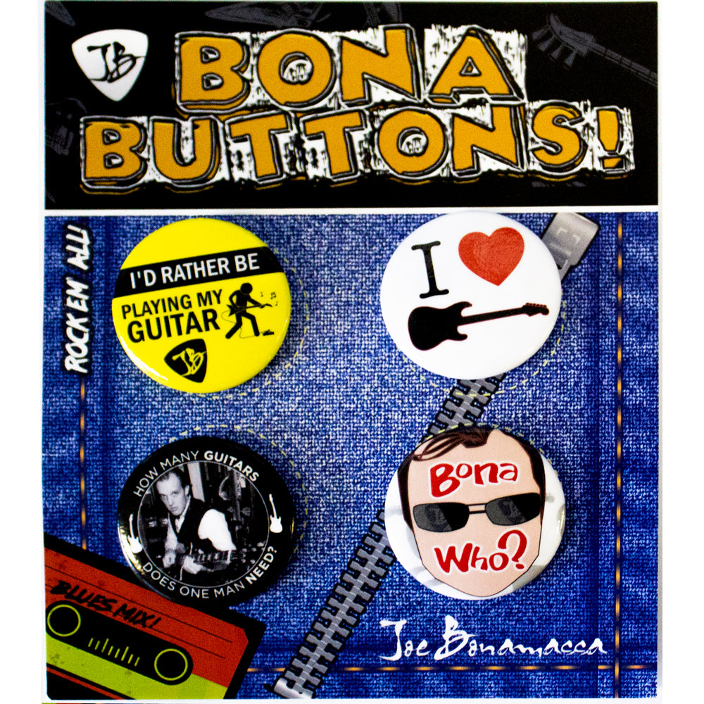 "Bona-Fide 1.5"" Buttons - Set of 4"