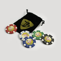 BonaVegas Poker Chips - Set of 5