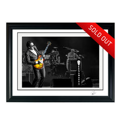 "#20 ""CARMELITA"" JOE BONAMASSA Collectible Litho (FRAMED - USA ONLY)"