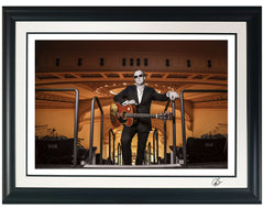 "#30 Official ""Carnegie Hall"" JOE BONAMASSA Collectible Litho (FRAMED - USA ONLY)"