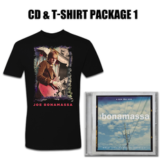 A New Day Now CD & T-Shirt Package #1 (Unisex)