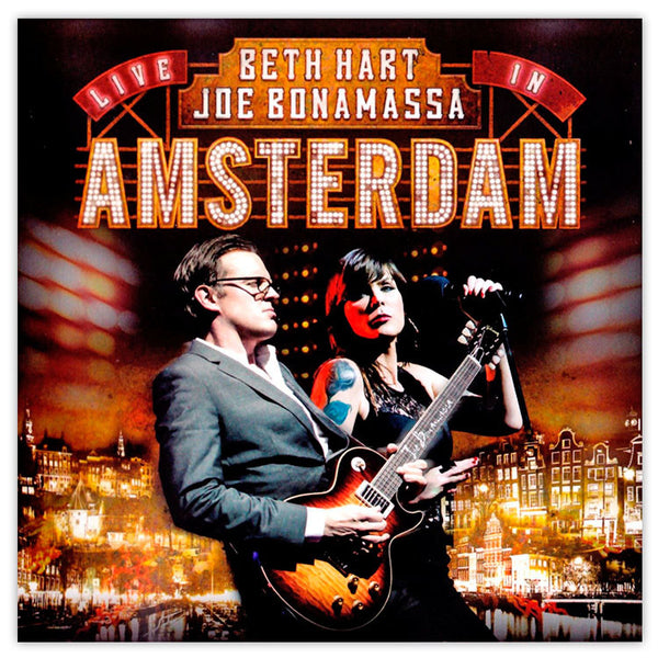 Beth Hart Amp Joe Bonamassa Live In Amsterdam Double Cd