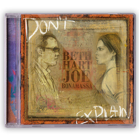 Beth Hart & Joe Bonamassa - Don't Explain </br>(CD)</br>(Released: 2011)