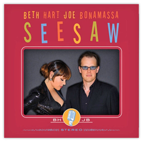 Beth Hart & Joe Bonamassa - SeeSaw </br>(CD)</br>(Released: 2013)