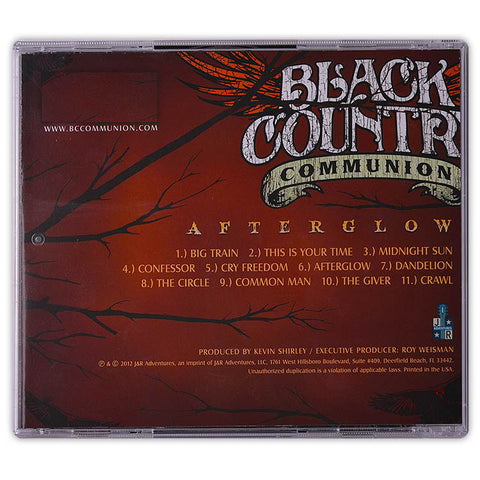 B.C.C® - Afterglow</br>(Studio CD)</br>(Released: 2012)