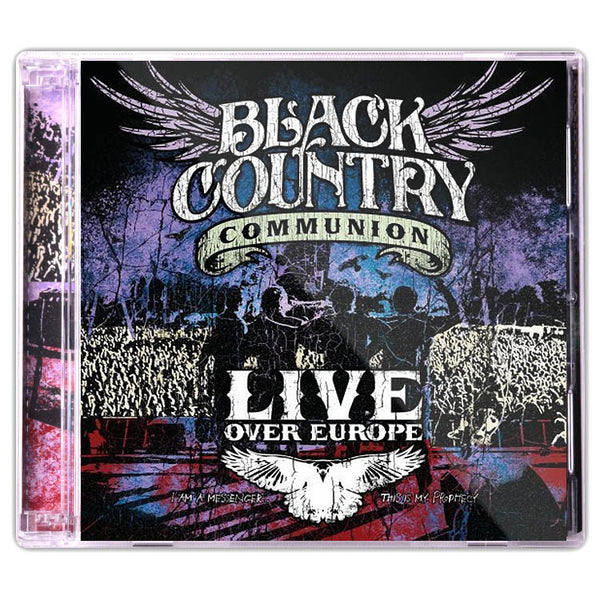 Black Country Communion: Live Over Europe (CD) (Released: 2012)