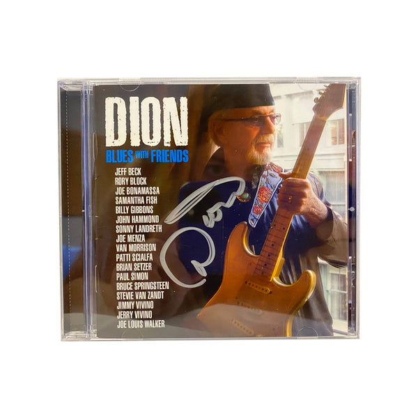 Dion: Blues with Friends (CD)(Released: 2020) - Hand-Signed