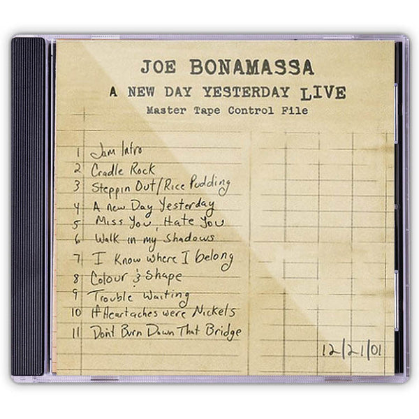 Joe Bonamassa: A New Day Yesterday Live (CD) (Released: 2005)