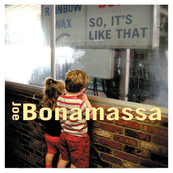 Joe Bonamassa: So It's Like That (Vinyl) (Released: 2002)