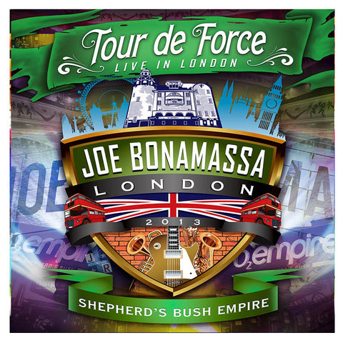 Joe Bonamassa: Tour de Force: Live In London - SHEPHERD'S BUSH EMPIRE (Double CD) (Released: 2014)