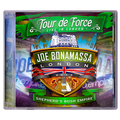 Tour De Force: Live In London Set - ALL 4 DOUBLE CDs w/ FREE TEE