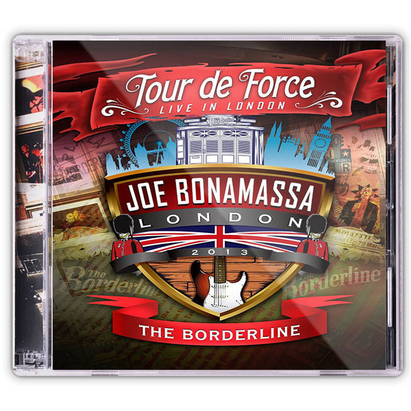 Joe Bonamassa: Tour de Force: Live In London - THE BORDERLINE (Double CD)(Released: 2014)