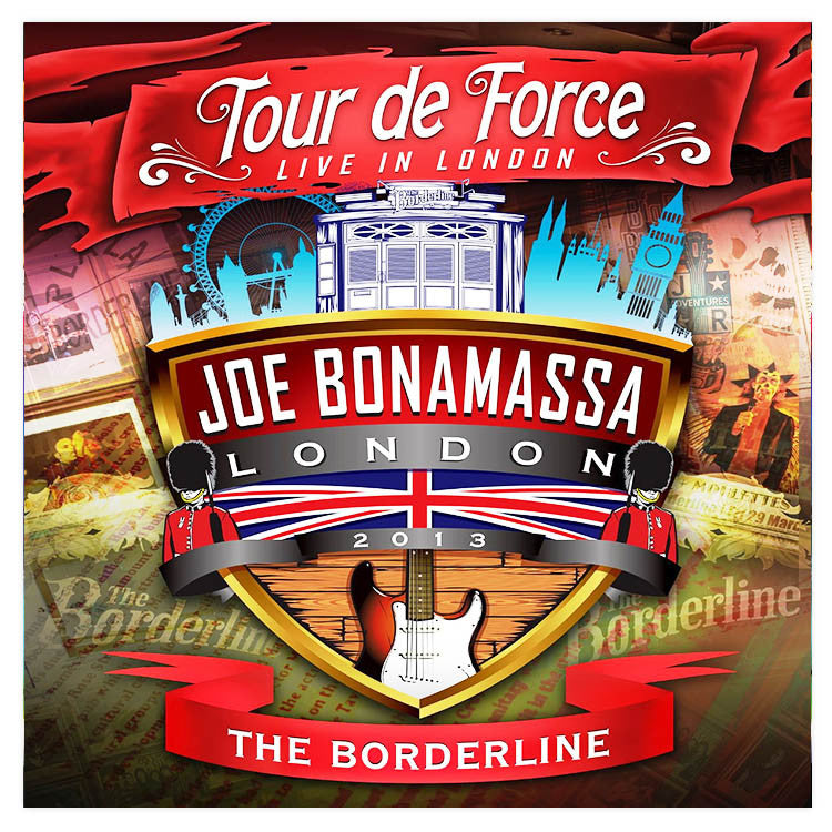 Joe Bonamassa: Tour de Force: </br>Live In London - THE BORDERLINE </br>(Double CD)</br>(Released: 2014)