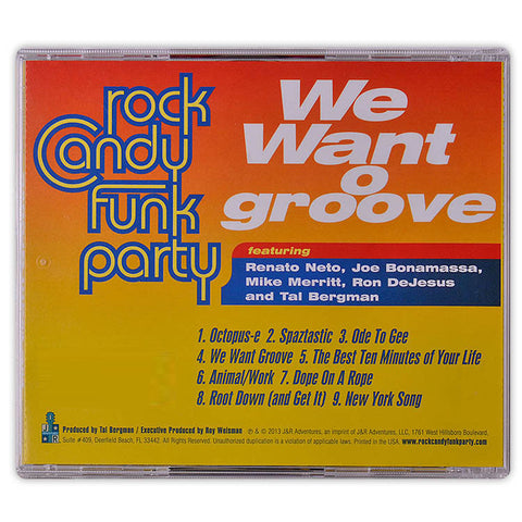 Rock Candy Funk Party - We Want Groove </br>(CD/DVD)</br>(Released: 2013)