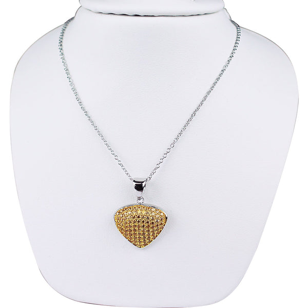 Bona-Fide Champagne Guitar Pick Necklace