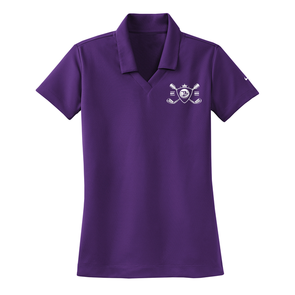 Blues Bogey Nike Dri-FIT Micro Pique Polo (Women) - Night Purple