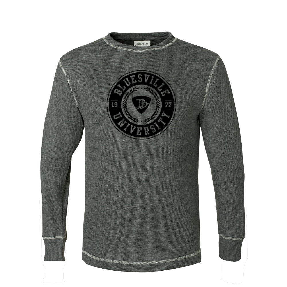 Bluesville University Thermal (Unisex) - Charcoal