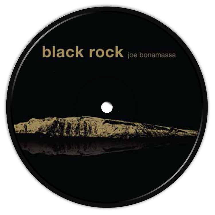 Black Rock Coaster / Fridge Magnet