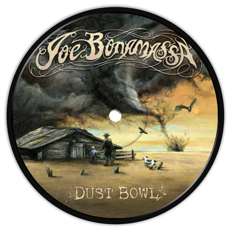 Dust Bowl Coaster / Fridge Magnet